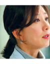 The World of The Married Kim Hee-ae Inspired Earrings 011 - ONE SIZE ONLY / Silver - Earrings