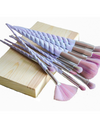 Unicorn Horn Makeup Brushes - Makeup