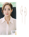 Whats Wrong With Secretary Kim Park Min Young Inspired Earrings 002 - Earrings