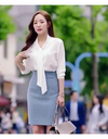 Whats Wrong With Secretary Kim Two-Piece Dress - S / Blue - Suits