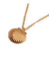 When The Camellia Blooms Gong Hyo Jin Inspired Seashell Locket Necklace - ONE SIZE ONLY / Gold - Necklaces