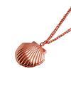 When The Camellia Blooms Gong Hyo Jin Inspired Seashell Locket Necklace - ONE SIZE ONLY / Rose Gold - Necklaces