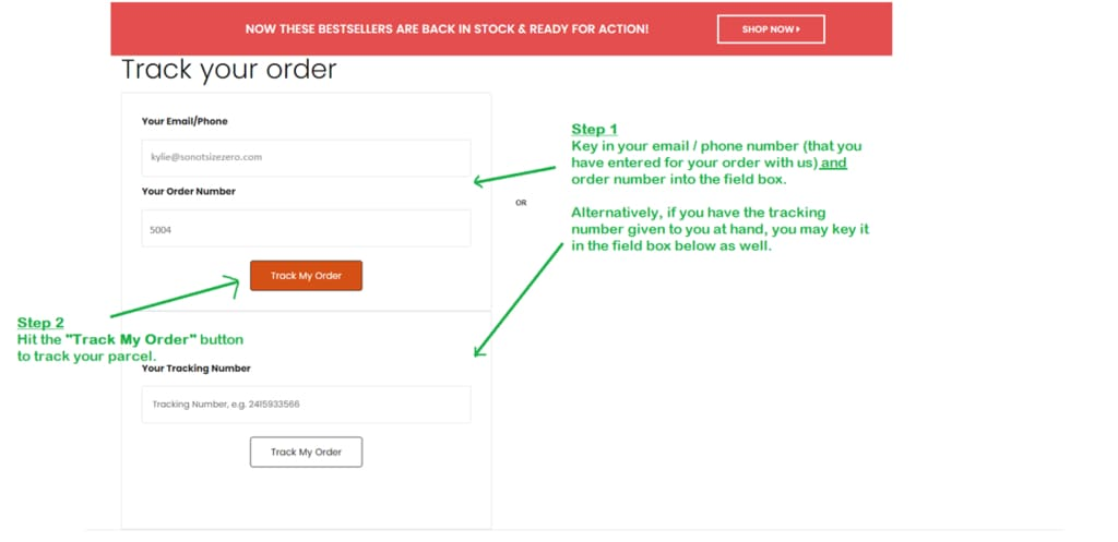 How To Track Your Order - Expedited Shipping