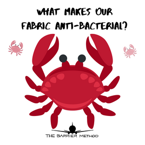 WHAT MAKES OUR FABRIC ANTI-BACTERIAL?
