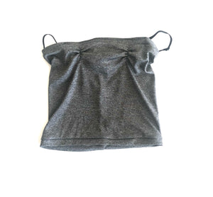 Charcoal Grey Neckie Mask