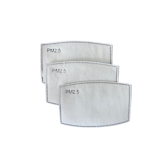 JUST THE MASK-FILTERS (Pack of 3)