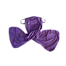 Load image into Gallery viewer, BRAND NEW COLOR! 💜 Purple Winged Mask💜 (Now Available!)