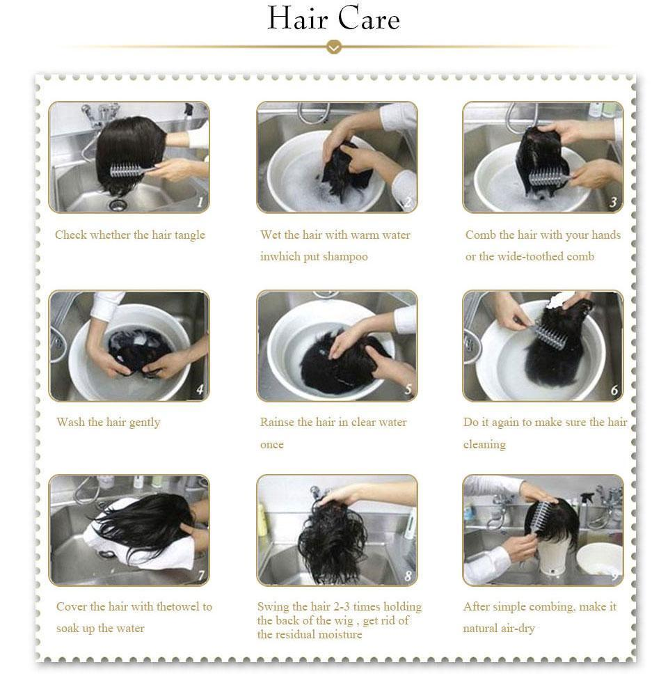 How to Wash Your Wig