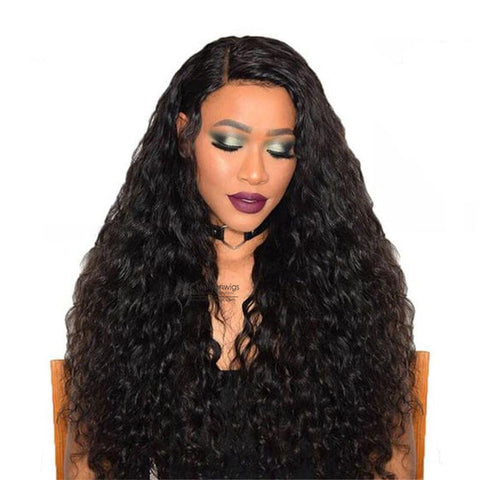 360 Lace Frontal Wig Natural Wave