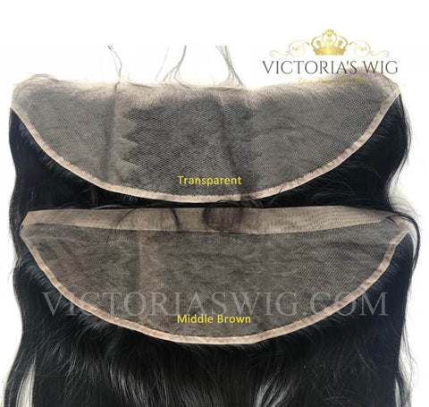 Body Wavy Virgin Hair Lace Frontal