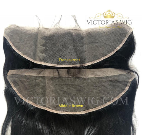 Straight Virgin Hair Lace Frontal
