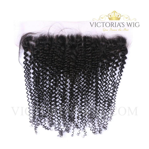 Lace Frontal Human Hair Kinky Curly