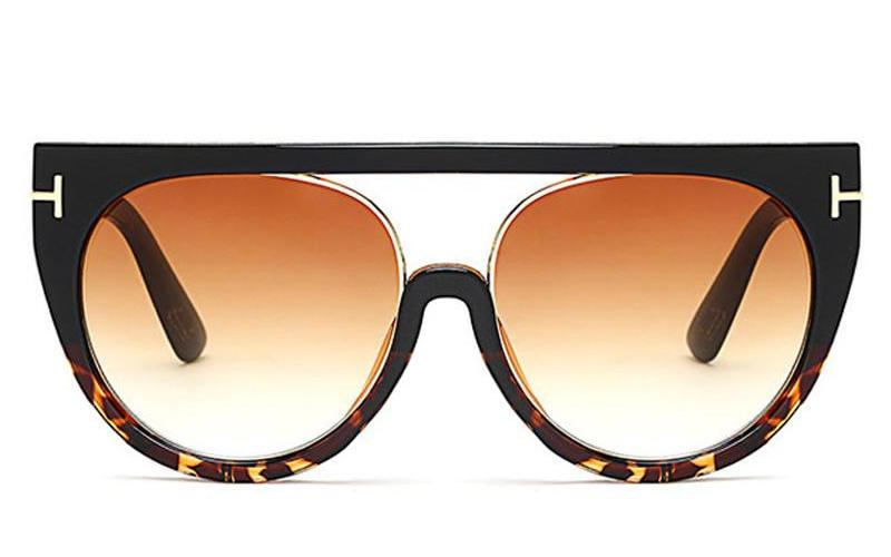 Women's Vintage Big Frame Sunglasses