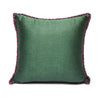 Red Green - Green Kutnu Pillow