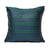 Navy Blue Green - Green Kutnu Pillow