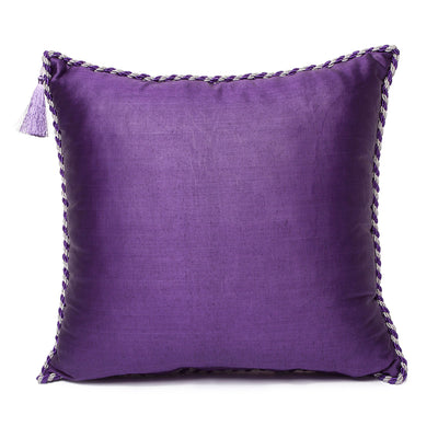 Purple Silver Green - Purple Kutnu Pillow