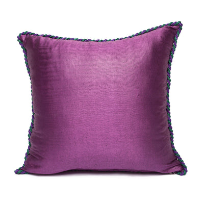 Purple Silver Light Green - Light Purple Kutnu Pillow