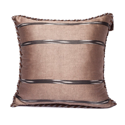 Beige Brown - Beige Brown Kutnu Pillow