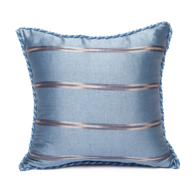 Blue Grey White - Grey Kutnu Pillow