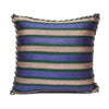 Purple Green Beige - Green Kutnu Pillow
