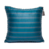Turqoise Blue Grey - Grey Kutnu Pillow