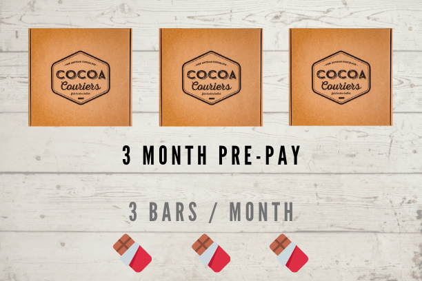 3 Month Pre-pay - Original Chocolate Box
