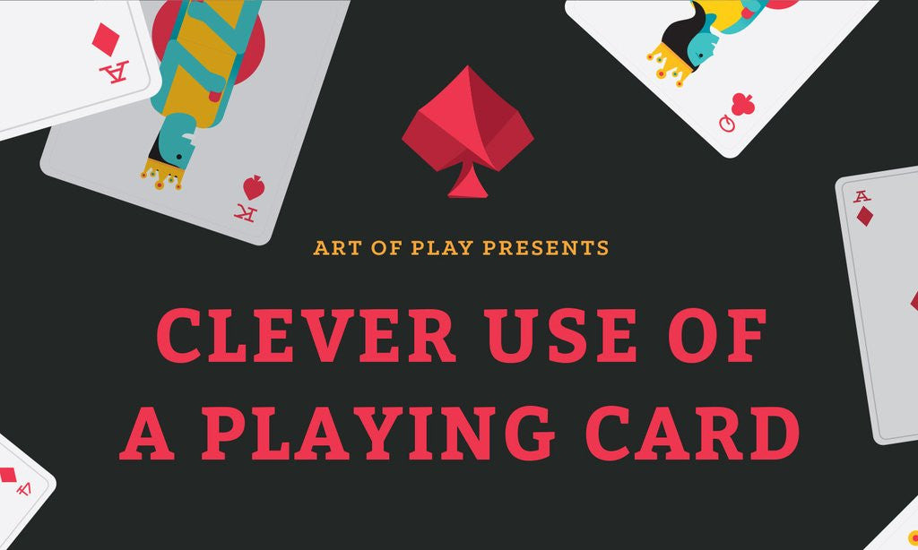 13 Clever Ways to Use a Playing Card
