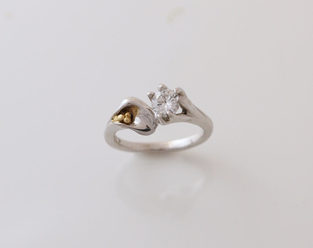 "Diamond ""Lily"" Ring"