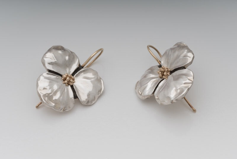 Large Flower Earrings