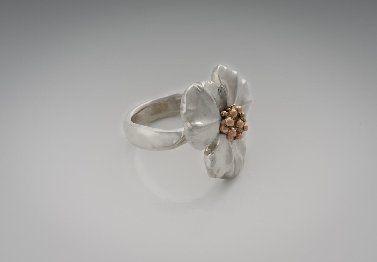 Large Flower Ring