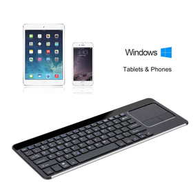 Premium Ultra-Thin 2.4Ghz Wireless Keyboard With Touchpad