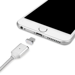 Braided Magnetic Fast Charge Lightning Cable for Apple