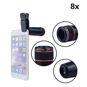 Premium 8X Optical Zoom Lens With Universal Mount