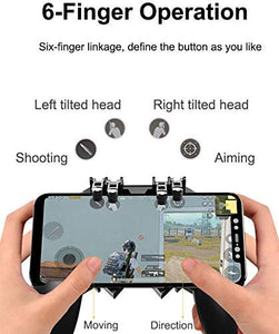 Modern 6-Finger Game Controller - Ideal for PUBG/ COD