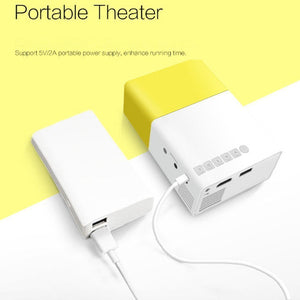 R2 Portable Mini LED Projector