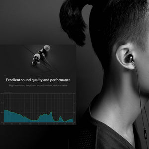 Premium Zircon In-Ear Headphones With Realistic True-Tone Sound