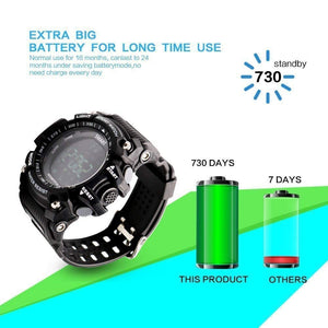 Premium Smart Watch With Extra Long Battery Life