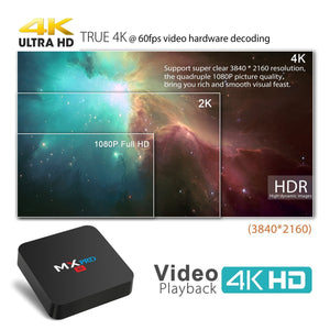 MXQ Pro 4K Android TV Box (3840*2160 resolution)