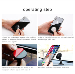 Baseus Universal Magnetic Car Dashboard Mobile Holder - Fixed