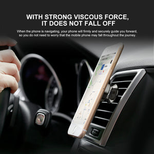 Baseus Universal Magnetic Car Air Vent Mobile Holder - 360 Rotation