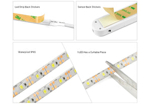 Smart Light-Strip with PIR Sensor - Battery Operated