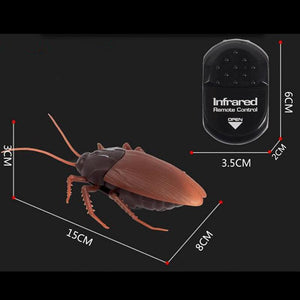 Premium Infrared Remote Control Fake Cockroach RC Toy
