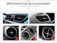 Cafele Universal Magnetic Mobile Holder For Car Air Vent - With 360 Degree Rotation