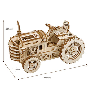 DIY Mechanical Tractor