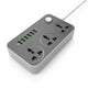 OKOS Surge Protector Power Strip (3-Socket + 6-USB 3.4A)