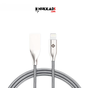Premium Fast Charging Metal Lightning to USB Data Cable for iOS