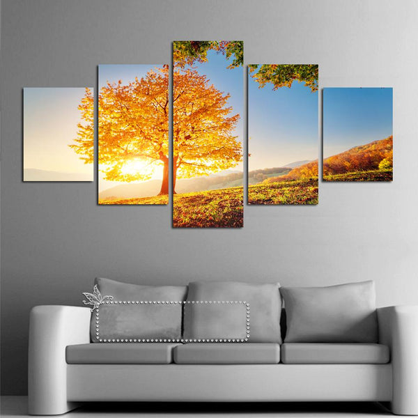 "Up to 65% OFF -  - ""Up on Top"" Modern Canvas Prints 