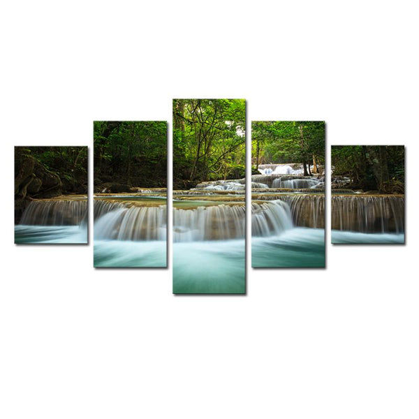 "Up to 65% OFF -  - ""Spring of Immortality"" Modern Canvas Print 