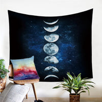 "Up to 65% OFF -  - ""The Moon Phase"" Tapestry 