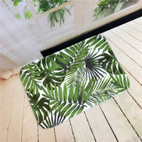 Tropicali Anti-Slip Plush Floor Mat